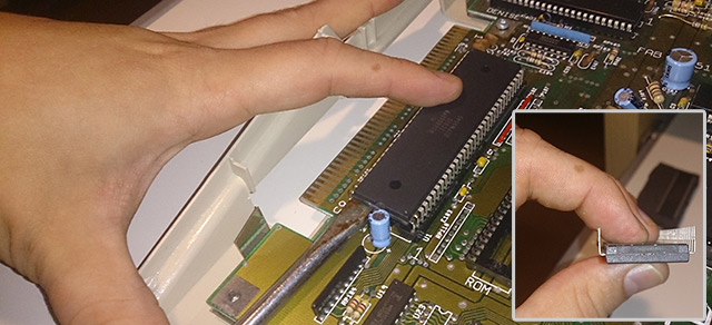 amiga 500 motherboard